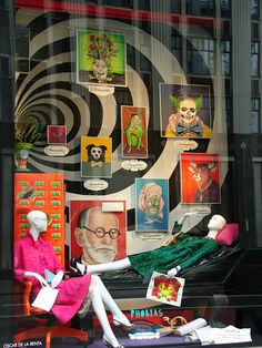 "Beautiful Window Displays!: Bergdorf ""Phobias"" Windows"