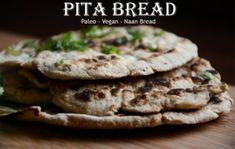Paleo Pita Bread (vegan, starch-free, gluten free) Super EASY Recipe