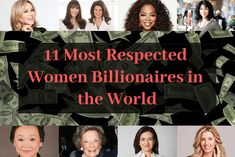Here is a list of the Most Respected and Inspirational Women Billionaires that will introduce you to 11 winning women in the world. Empowered Women, Chin Up, Skin Care Treatments, Successful Women, Rodan And Fields, Billionaire, Women Empowerment, How To Introduce Yourself