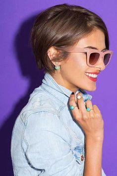 Coupes Courtes Pour femme tendance 2016 – Les modèles Les Plus Inspirants! | Coiffure simple et facile