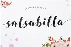 SALSABILLA Script ~ Script Fonts on Creative Market