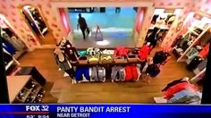 PANTY BANDIT ARREST OHIO MAN ACCUSED OF STEALING $1000 WORTH AT VICTORIA...