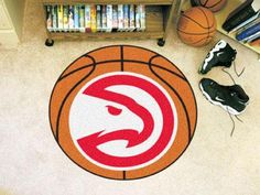 NBA Atlanta Hawks Basketball Mat