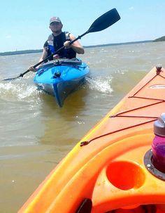 Kayaking the whitecaps. Southern California Camping, Canoe, Kayaking, Kansas, Lakes, Outdoor Decor, Kayaks