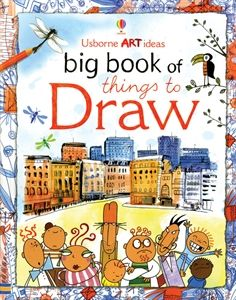 This inspiring book is packed full of creative ideas for anyone who wants to draw.  The simple step-by-step instructions show how to draw animals, building, people and cartoons, and give tips on shading and perspective.  From easy projects to more challenging ones. $16.99, 96 pages, ages 10+