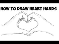 Today I'll show you how to draw make heart hands for Valentine's Day. You will learn how to draw two hands that are cupped together to form a heart to represent love on Valentine's Day. We will guide you through the steps here as we try to make it as easy as possible for you. Happy Drawing! Easy Drawings For Kids, Cool Drawings, Drawing Faces, Wall Drawing, Eye Drawings, Heart Drawings, Simple Drawings, How To Draw Steps, Learn To Draw