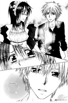 Kaichou wa Maid-sama manga - Takumi & Misaki