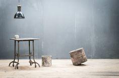 Vintage Industrial Tailors Task Table : Factory 20