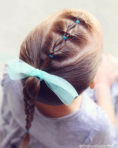 teenage hairstyles for school It Works Little Girls Ponytail Hairstyles, Little Girl Ponytails, Cute Toddler Hairstyles, Girls Hairdos, Teenage Hairstyles, Short Hair Updo, Natural Hair Styles For Black Women, Short Hair Styles Easy, Braided Hairstyles Tutorials