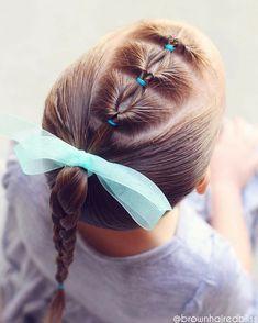 teenage hairstyles for school It Works Little Girls Ponytail Hairstyles, Little Girl Ponytails, Cute Toddler Hairstyles, Girls Hairdos, Teenage Hairstyles, Baby Girl Hairstyles, Natural Hair Styles For Black Women, Short Hair Styles Easy, Braided Hairstyles Tutorials