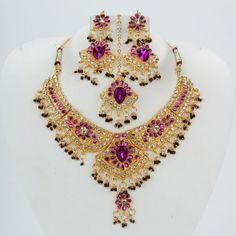 Purple Beads With Purple