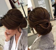 Example Baby Girl Hairstyles, Fancy Hairstyles, Bride Hairstyles, Bridal Hair Updo, Bridal Hair And Makeup, Hair Makeup, Peinado Updo, Bridal Hair Inspiration, Hair Upstyles