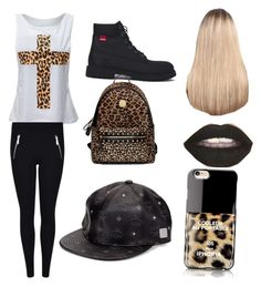 """""""by Jojo"""" by kaejaee on Polyvore featuring Timberland, MCM, Extension Professional and Iphoria"""