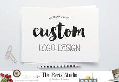 Complete Custom Logo Design: website branding, small business boutique branding design