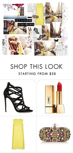 """Get The Look: Nicole Warne"" by princess-sarahbear ❤ liked on Polyvore featuring Vanity Fair, Dolce&Gabbana, Yves Saint Laurent, Topshop, Marchesa, GetTheLook, garypepper, topshop, nicolewarne and Butterflygirl"