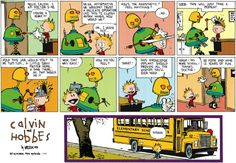If only Calvin...