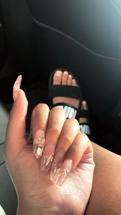 Jelly Nails Trends Ideas To Inspired Soul Prom Nails, Long Nails, My Nails, Clear Acrylic Nails, Clear Nails, Gorgeous Nails, Pretty Nails, Nagellack Design, Jelly Nails