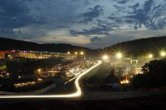 Spa Francorchamps - night