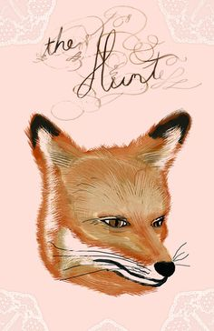 the hunt :: lace Art Print by Heather Landis