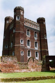 The 13th century Tattershall Castle, Cambridgeshire, England, UK
