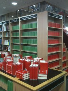 Loebs on parade at Foyle's Bookshop on Charing Cross Road in London. (http://www.hup.harvard.edu/loeb)
