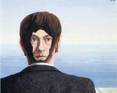 "René Magritte, ""The glass house"""