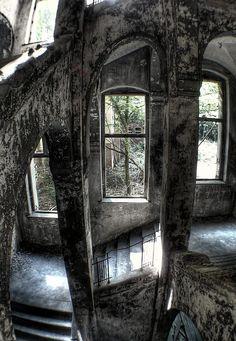 Beelitz Heilstätten Hospital, Beelitz, Brandenburg, Germany, abandoned