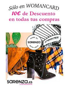 Disfruta al máximo de  con los 10€ dto en todas tus compras que te trae tu carné #womancard ¡Todo el año! http://www.womancard.es/