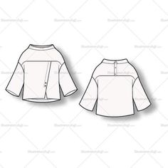 Golf Outfit S Women Women's cowl neck Blouse Fashion Flat Template - Women's cowl neck Blouse Fashion Flat Template Fashion Design Jobs, Fashion Design Sketches, Dress Patterns, Sewing Patterns, Curvy Women Fashion, Womens Fashion, 50 Fashion, Fashion 2018, Resort Dresses