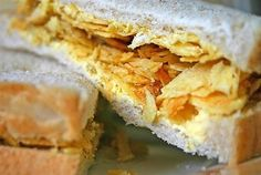 What did your childhood taste like? Chip sandwiches … those were the days. What did your childhood taste like? Chip sandwiches … those were the days. Empanadas, Crisp Sandwiches, Irish Recipes, Potato Chips, Back Home, Childhood Memories, 1980s Childhood, Food And Drink, Treats