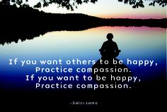 If you want others to be happy, practice compassion. If you want to be happy, practice compassion. Blue Chakra, I Need Help, Simple Words, Dalai Lama, Compassion, My Best Friend, Best Quotes, Meant To Be, Spirituality