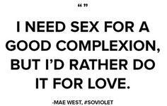 I need sex..