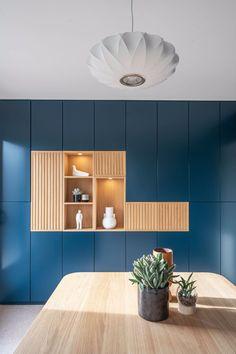 Desk Nook, White Appliances, Wall Shelves Design, Bespoke Kitchens, Wall Storage, Cabinet Design, Innovation Design, Kitchen Design, House Design