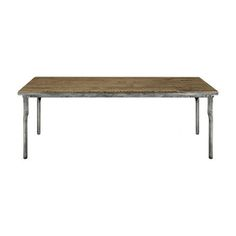 "Workshop 87"" x 38"" Dining Table with Iron Base"