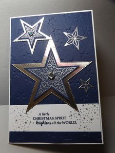 Best Cost-Free Scrapbooking Paper stars Tips Memory book is a wonderful solution to immortalize the household members an individual really enjoy Christmas Mom, Christmas Cards To Make, Handmade Christmas, Holiday Cards, Christmas Hanukkah, Christmas 2019, Holiday Ideas, Scrapbooking, Scrapbook Cards