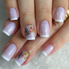 Shellac Nail Designs, Shellac Nails, Manicures, Elegant Nails, Nail Bar, French Nails, Manicure And Pedicure, Fashion Beauty, Beauty Style