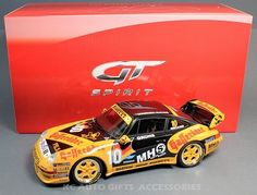Porsche 993 SuperCup #10 Groh's Team Halleroder 1:18 scale resin car GT Spirit GT071  Manufacturer:  GT Spirit     Scale:  1:18    Material:  Resin (no openings)  Part #:  GT071  Production Total:  1000
