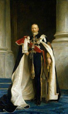 El rey Jorge V (1865-1936).