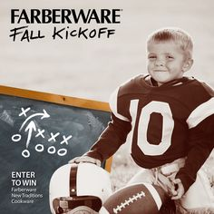 What's your game plan for fall fun? Celebrate the season with the Farberware® Fall Kickoff giveaway! Click the image for giveaway details. {Giveaway Ends 9/28/14}