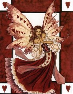 "Amy Brown ""Valentine Fairy"""