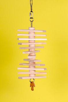 Natural Wood Slat Toy