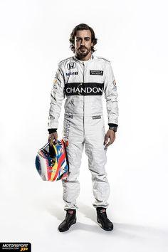 Formel 1 2016, Präsentationen, Fernando Alonso, McLaren, Bild: McLaren