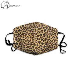 Leopard Print Fashion Face Mask  Price: 50.99 & FREE Shipping