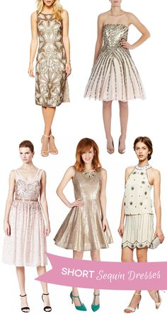 We've picked some of our favorite sparkly bridesmaids looks from real weddings and also where you can find your very own gorgeous sequin bridesmaids dresses...