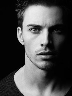 Keagan Burns. Kallona. 21. Young male, man, guy, powerful face, intense, shadow and light, emotion, expression, portrait, b/w