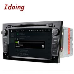 Idoing 2Din Radio Car DVD Multimedia Player Fit Opel Vectra Corsa D Astra H Steering-Wheel Android Audio HD touch Screen Video