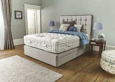 The Monteviot is a luxurious sleeping experience. Support is provided by its 16300 springs, which includes a 'nested' Revolution core and our lightweight titanium alloy springs.   The quadruple side stitching ensures you're supported right up to the edge of the sleeping surface, offering great stability over the lifetime of the mattress. Amazing Beds, Cool Beds, Stability, Revolution, Mattress, Stitching, Core, Surface, Sleep