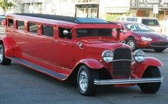 Crazy Cars: 1929 Ford Coupe Stretch Limo Brought to you by at in Eugene, Oregon Old Classic Cars, Classic Trucks, Vintage Cars, Antique Cars, Vintage Ideas, Automobile, Auto Retro, Weird Cars, Crazy Cars