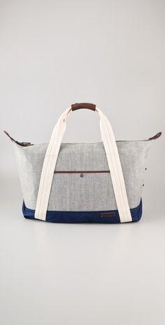 Duffel Bag / Rag & Bone Diy Bags, Upcycled Textiles, Duffel Bag, Diy Canvas, Tote Handbags, Leather Handbags, Leather Bag, Rag And Bone, Diy Handbag