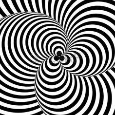 Спираль Фибоначчи, Векторный Дизайн, Грифонаж Дзен, Оптические Иллюзии,  Виктор Вазарели, Компьютерное 1d903504d7a